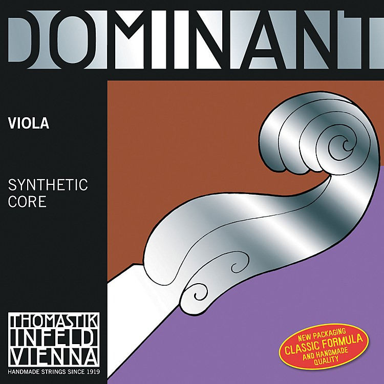Thomastik Dominant Viola D String D, Medium, Unpackaged 15+ Inch