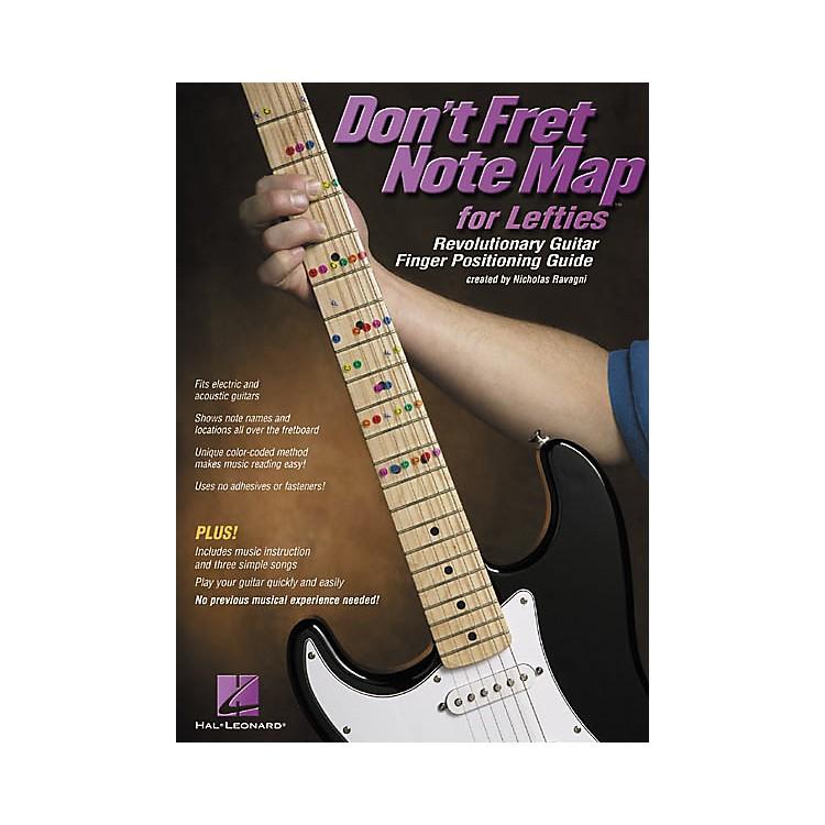Hal LeonardDon't Fret Note Map for Lefties Book