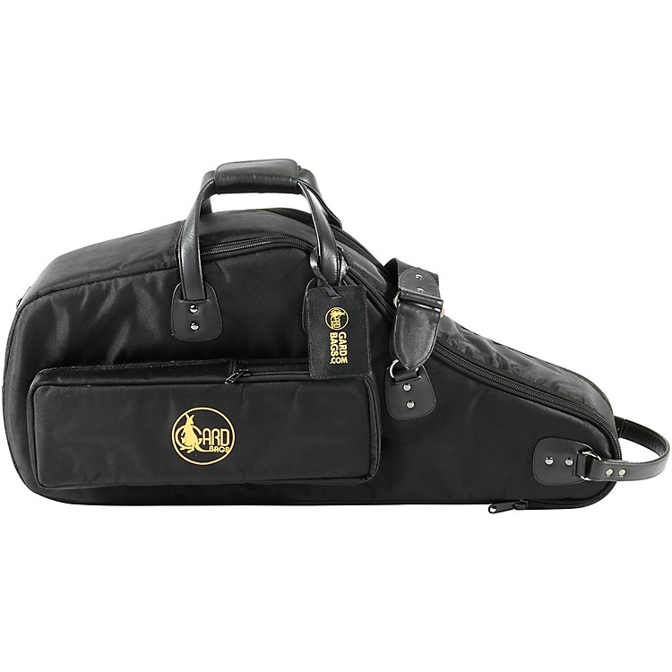 GardDouble Alto Soprano Saxophone Gig Bag (European Model)Synthetic with Leather Trim
