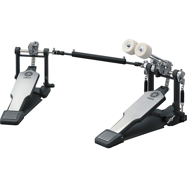Yamaha Double Bass Drum Pedal, Double Chain Drive with Long Footboards