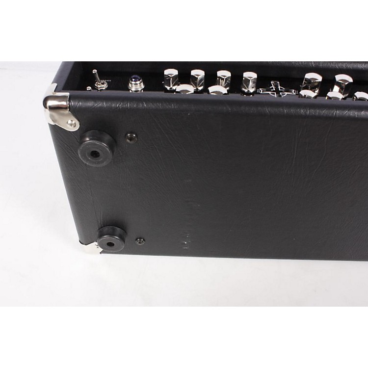 Kustom Double Cross 100W Tube Guitar Amp Head Black 886830399251