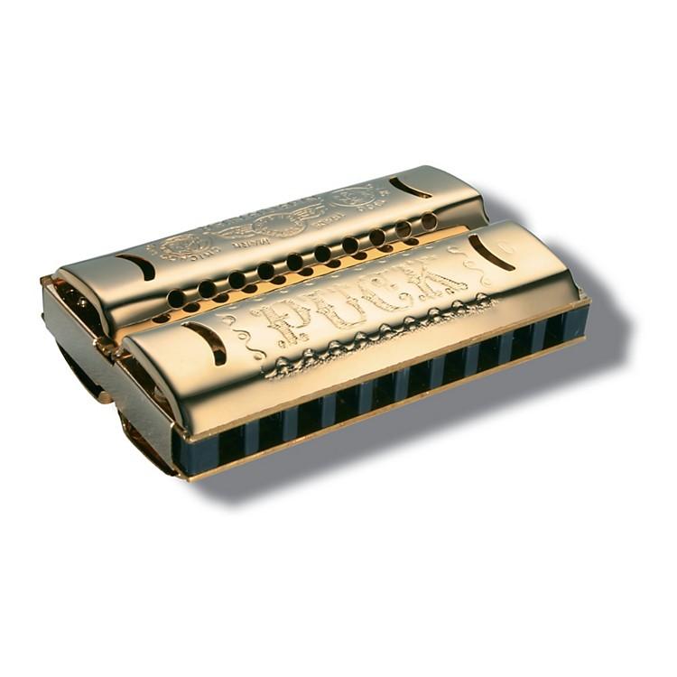 HohnerDouble Puck Harmonica