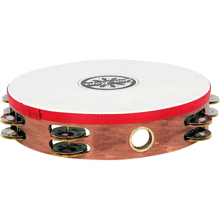 Gon BopsDouble Row Wooden Tambourine w/Head
