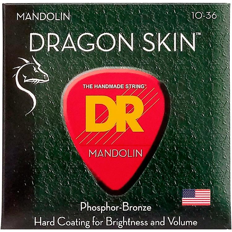 DR StringsDragon Skin Clear Coated Mandolin Strings (10-14-24-36)
