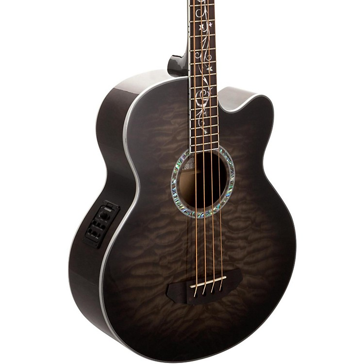 Michael Kelly Dragonfly 4-String Acoustic-Electric Bass Smoke Burst
