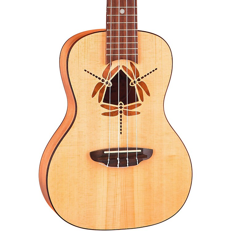 Luna Guitars Dragonfly Concert Ukulele Natural