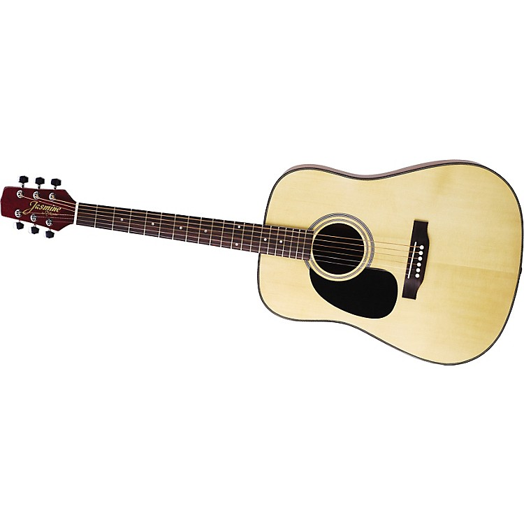JasmineDreadnought Lace S33LH Left-Handed Acoustic Guitar