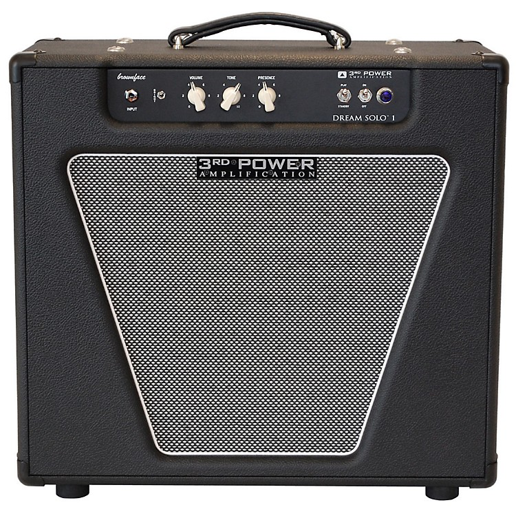 3rd Power Amps Dream Solo 22W 1x12 Tube Guitar Combo Amp Black