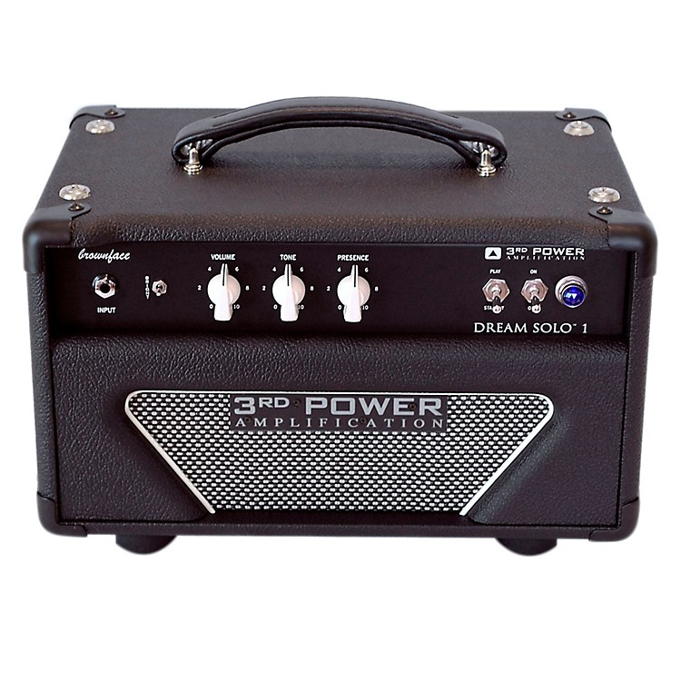 3rd Power Amps Dream Solo 22W Tube Guitar Amp Head Black