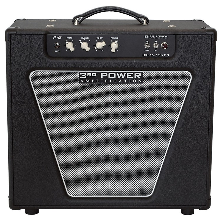 3rd Power Amps Dream Solo 3 22W 1x12 Tube Guitar Combo Amp Black