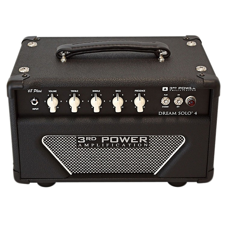 3rd Power Amps Dream Solo 4 22W Tube Guitar Amp Head Black