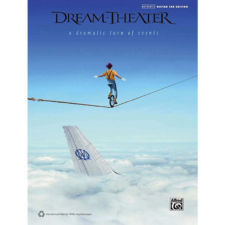 Hal LeonardDream Theater - A Dramatic Turn of Events Guitar TAB Book