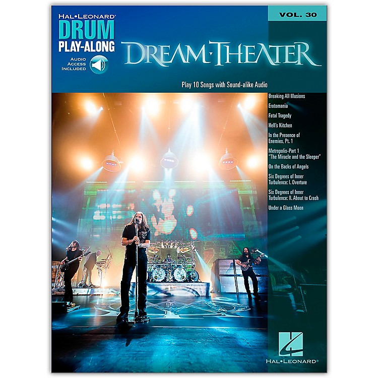Hal Leonard Dream Theater - Drum Play-Along Vol. 30 Book/2-CD Pack