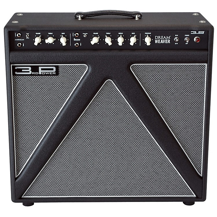 3rd Power Amps Dream Weaver 38W 1x12 Tube Guitar Combo Black