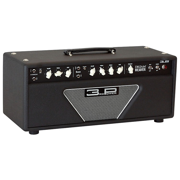 3rd Power Amps Dream Weaver 38W Tube Guitar Amp Head Black