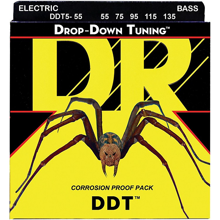 DR StringsDrop-Down Tuning 5-String Heavy Bass Strings