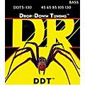 DR Strings Drop Down Tuning Medium 5-String Bass Strings (45-130)