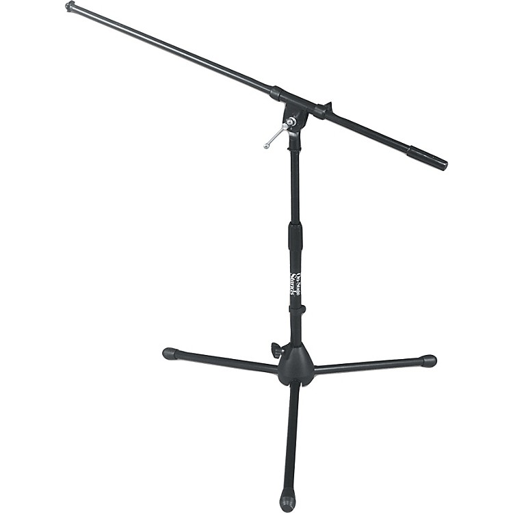On-Stage Stands Drum / Amp Tripod Mic Stand with Boom Black