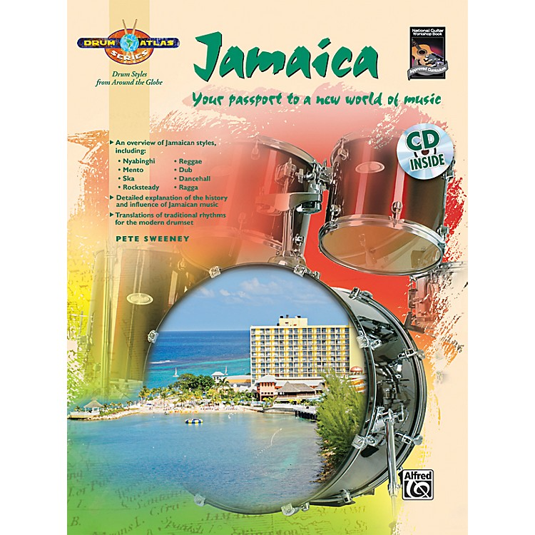 Alfred Drum Atlas: Jamaica (Book/CD)