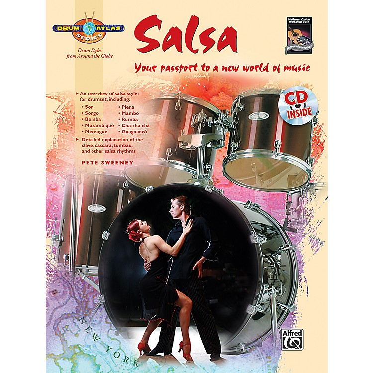 Alfred Drum Atlas: Salsa (Book/CD)