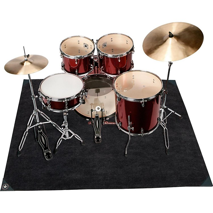 Road Runner Drum Rug Gray
