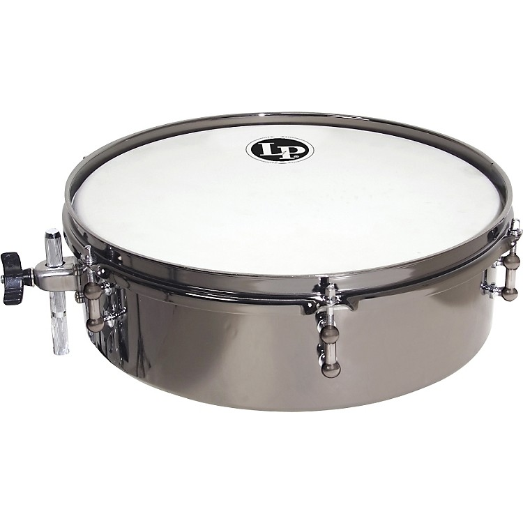 LP Drum Set Timbale 12 x 4 in. Black Nickle