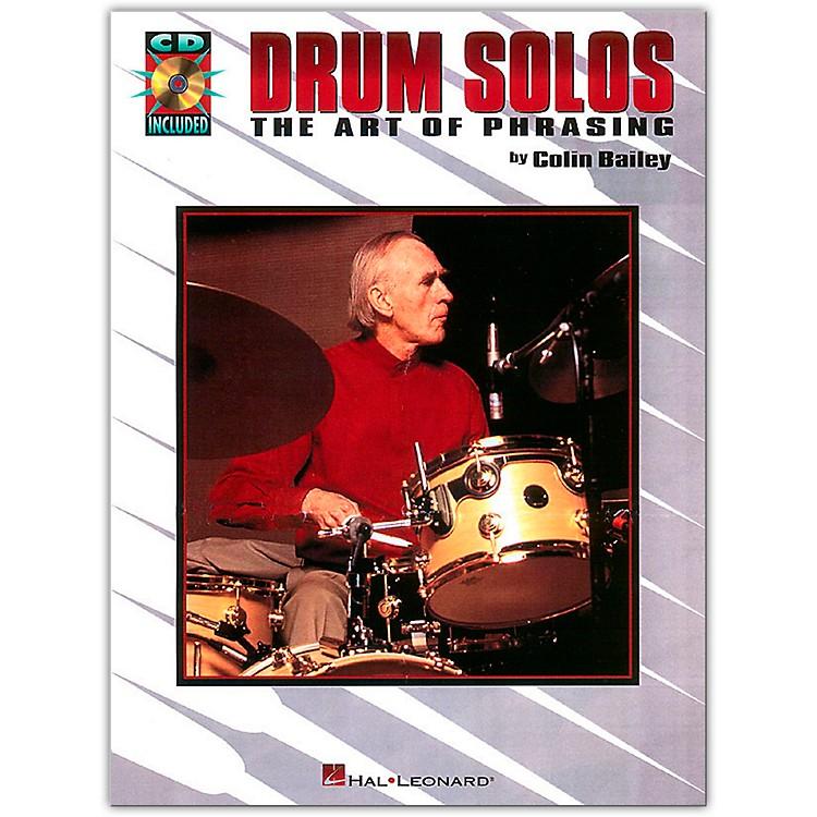 Hal LeonardDrum Solos: The Art of Phrasing Book/CD