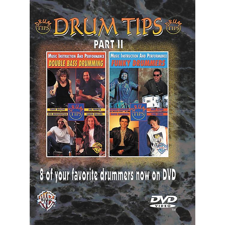 AlfredDrum Tips Part II - Double Bass Drumming/Funky Drummers DVD