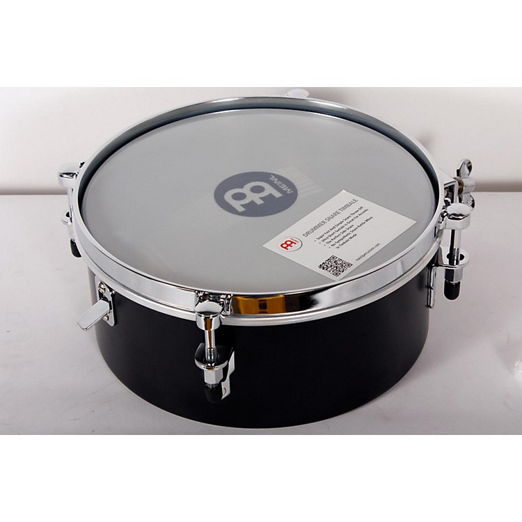 Meinl Drummer Snare Timbale Black, 10 in. 888365897189