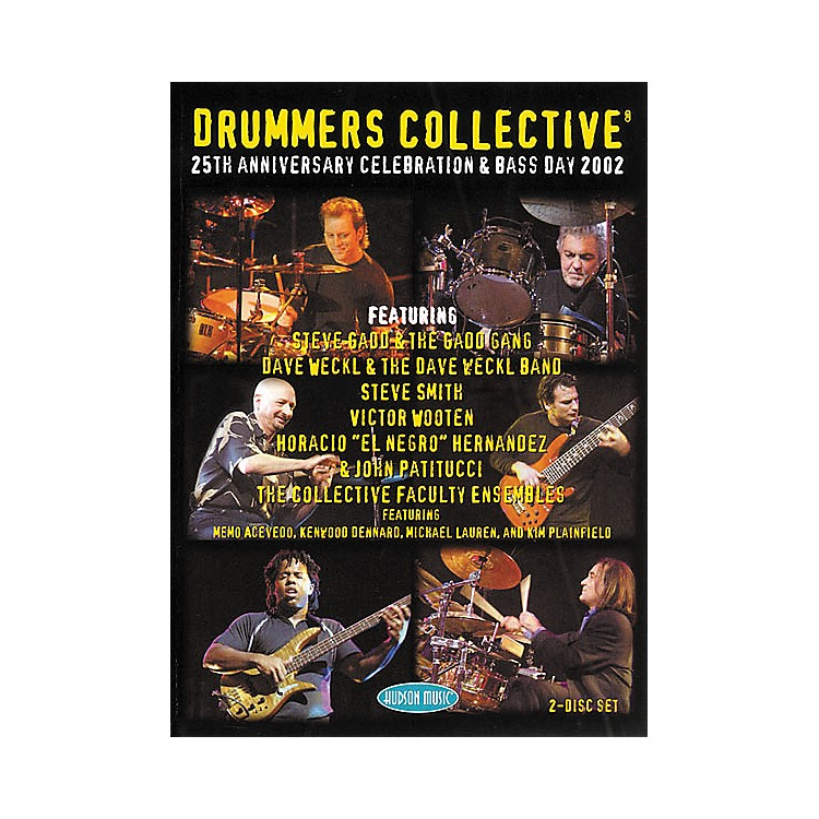 Hudson MusicDrummers Collective 25th Anniversary Celebration and Bass Day DVD