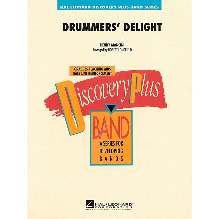 Hal Leonard Drummers' Delight - Discovery Plus Concert Band Level 2