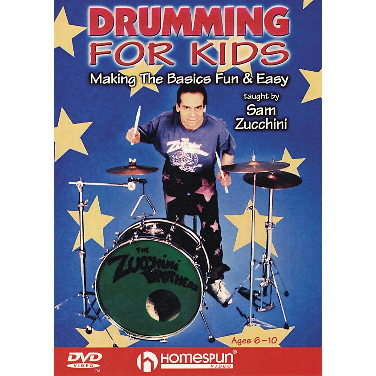 Homespun Drumming For Kids - Making the Basics Easy (DVD)