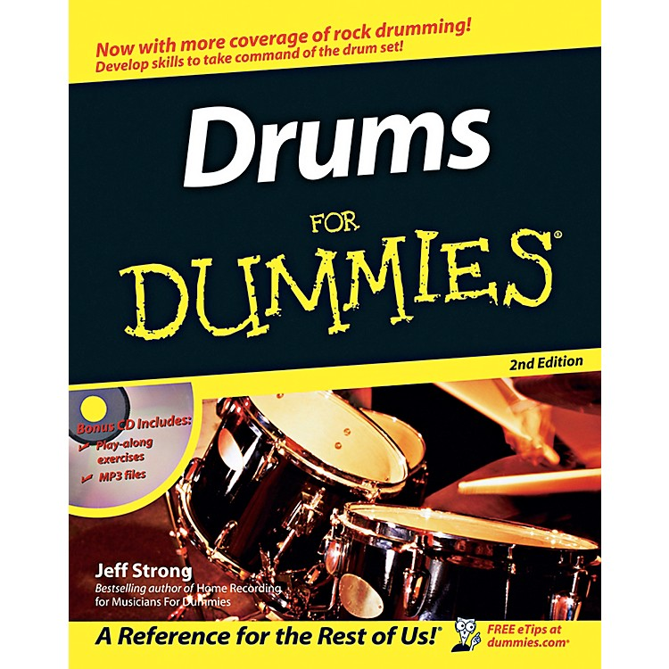 Mel BayDrums for Dummies, 2nd Edition  Book/CD Set