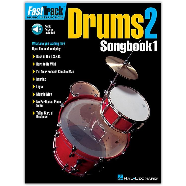 Hal LeonardDrums2 FastTrack Songbook