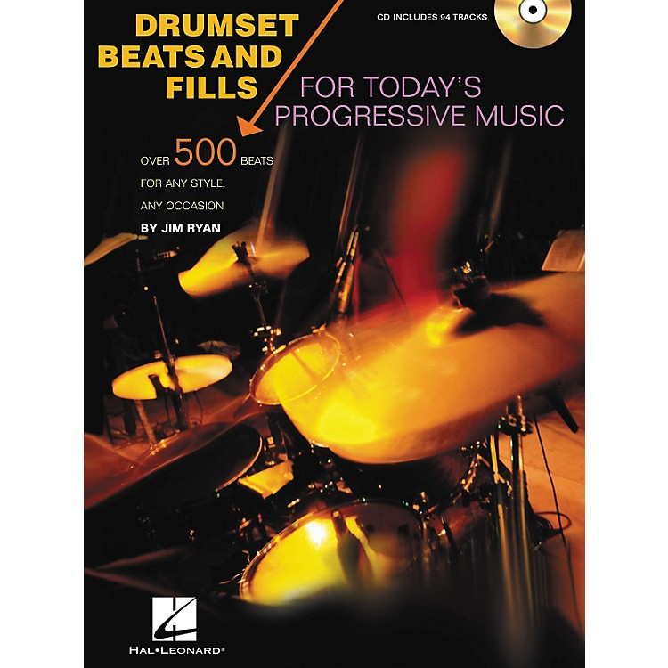 Hal Leonard Drumset Beats and Fills For Today's Progressive Music (Book/CD)
