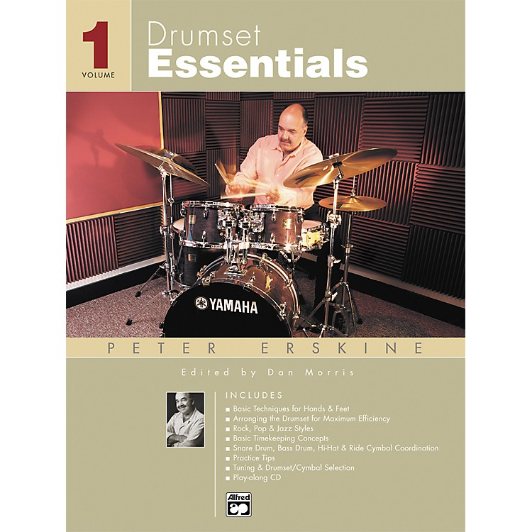 Alfred Drumset Essentials Volume 1 (Book/CD)