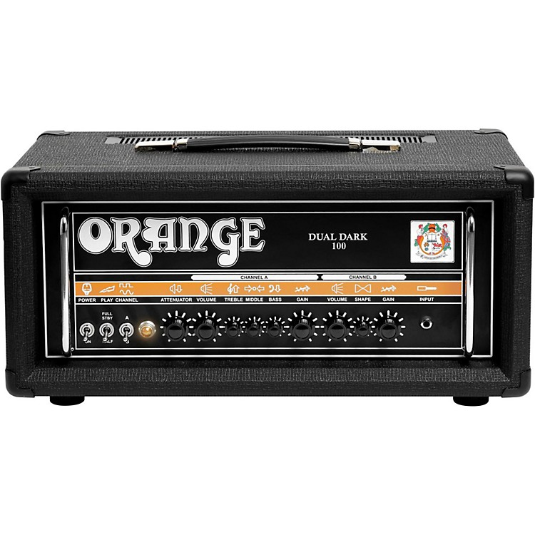 Orange AmplifiersDual Dark 100W High-Gain Guitar HeadBlack