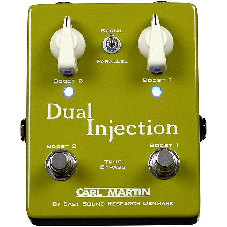 Carl MartinDual Injection Overdrive Guitar Pedal