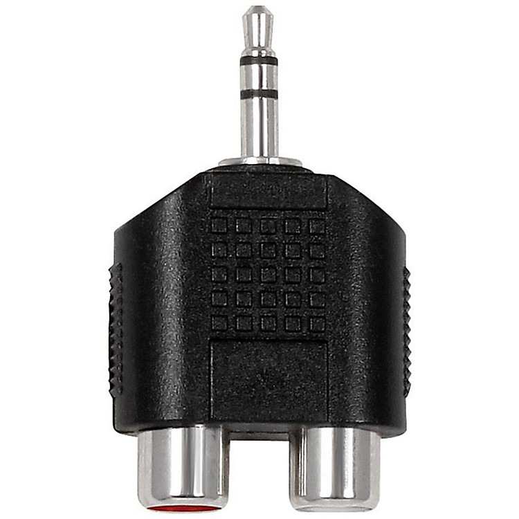 Live Wire Dual RCA-Mini TRS Adapter