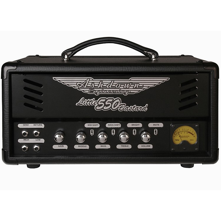 Ashdown Dual Tube Preamp Series 550 Bass Amp Head Black