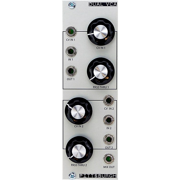 Pittsburgh Modular SynthesizersDual VCA Module