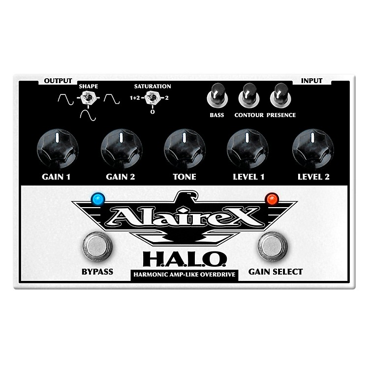 AlairexDual channel H.A.L.O. Overdrive Guitar Effects Pedal