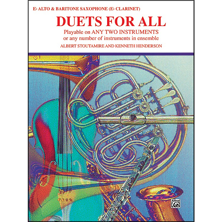 Alfred Duets for All Alto Saxophone (E-Flat Saxes & E-Flat Clarinets)