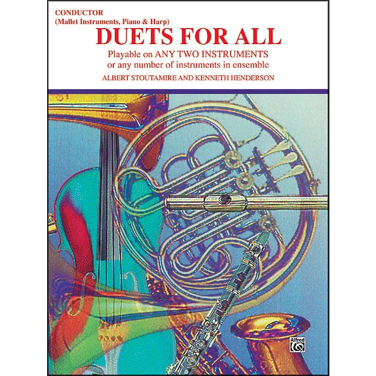 AlfredDuets for All Piano/Conductor Bells Harp