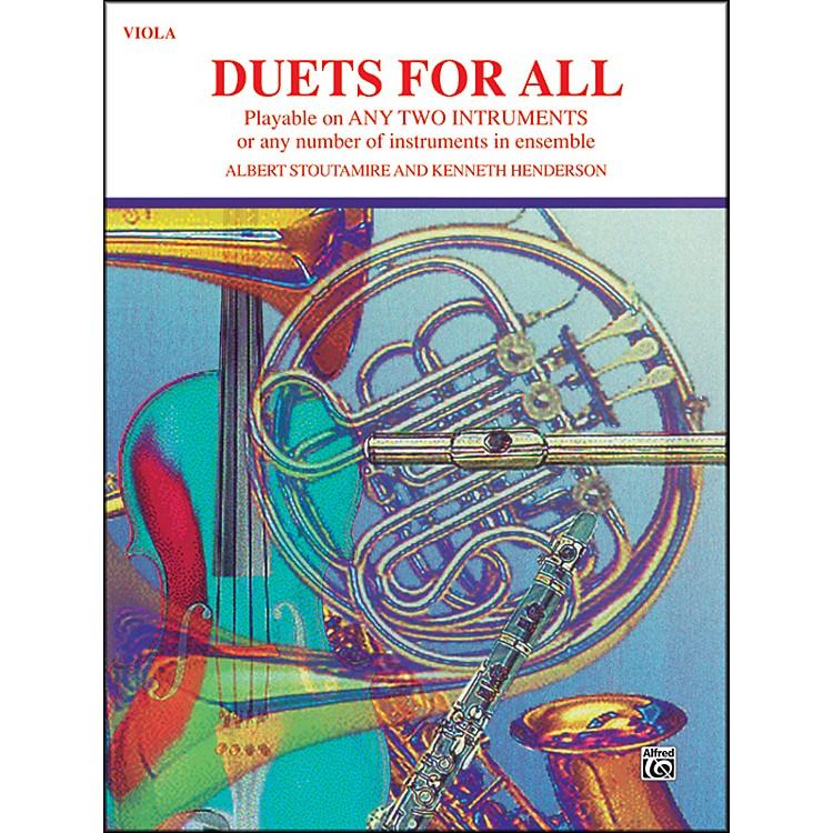 AlfredDuets for All Viola