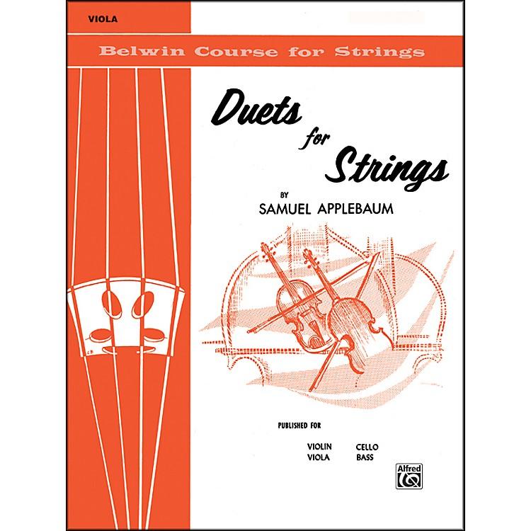 AlfredDuets for Strings Book I Viola