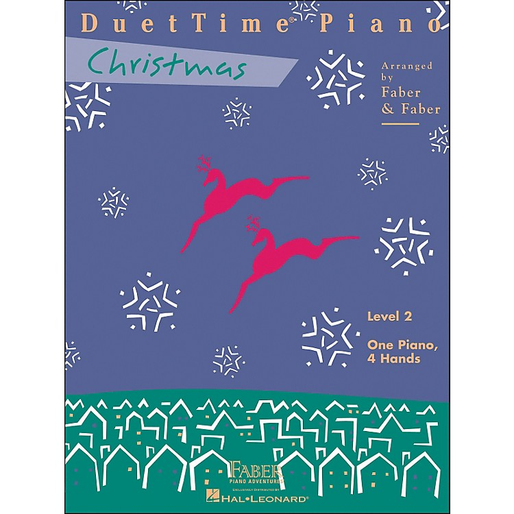 Faber Music Duettime Piano Christmas Level 2 One Piano Four Hands - Faber Piano