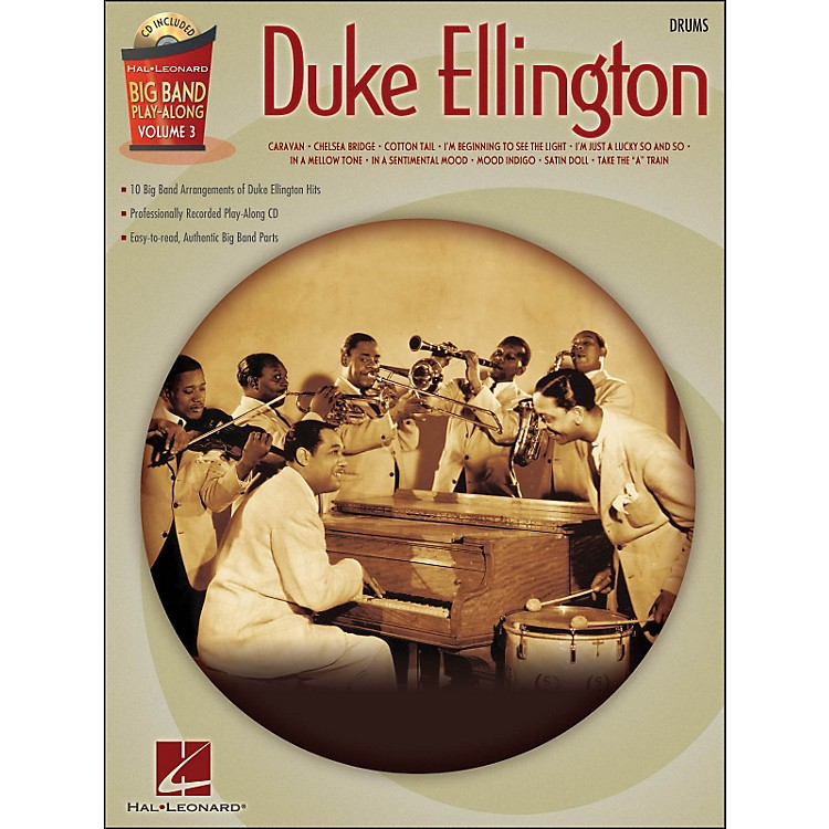 Hal Leonard Duke Ellington Big Band Play-Along Vol. 3 Drums
