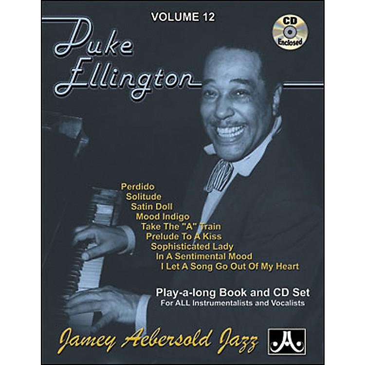 Jamey AebersoldDuke Ellington Play-Along Book and CD