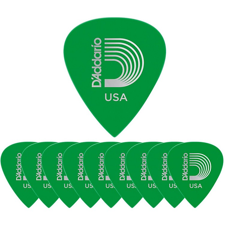 D'Addario Planet Waves Duralin Precision Medium Guitar Picks Light